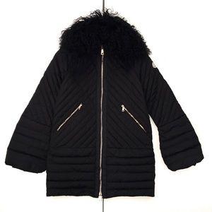 RARE New Authentic Moncler Beaver Fur Sciarpa